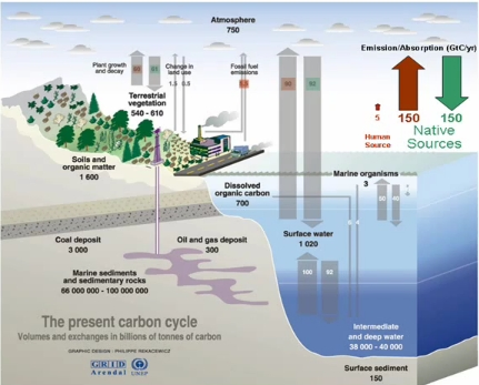 The part of natural CO2 emissions: dynamite conference by Prof. Murry Salby (2/6)